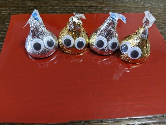 スライムチョコ,作り方,バレンタイン,ハロウィン,トリート,ばらまきお菓子