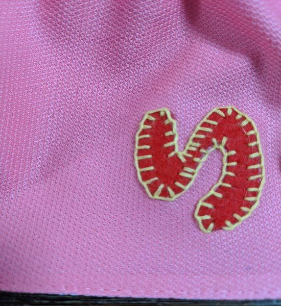 カラー帽子,デコ,日よけ,アイロンアップリケ,縫い方,男の子,キャラクター,目立つ,ピンク