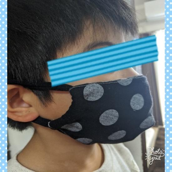 古着,リメイク,マスク,Tシャツマスク,子供,