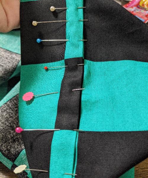 鬼滅の刃,炭治郎羽織,作り方,ごっこ服