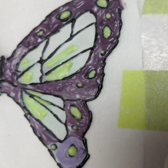 キャラチョコ紫,作り方,胡蝶しのぶ,鬼滅の刃