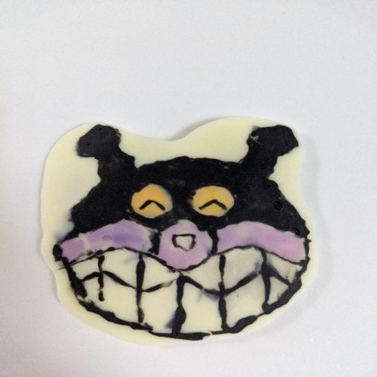 キャラチョコ紫,作り方,バイキンマン