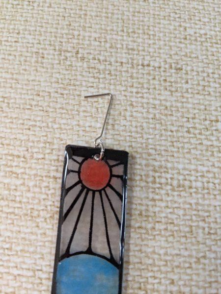 炭治郎の耳飾り プラバン