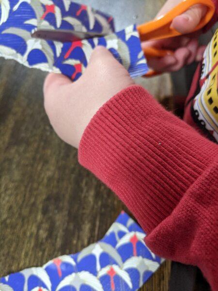 鬼のお面,作り方,立体,3歳,親子制作