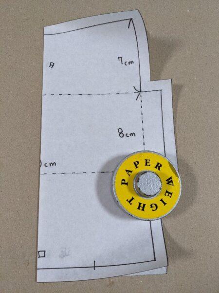 カトラリーケース作り方,しつけ箸,エジソン箸,年少,100均,布