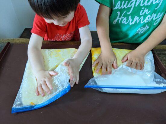 手作り,アイスクリーム,パフェ,作り方,子供,簡単