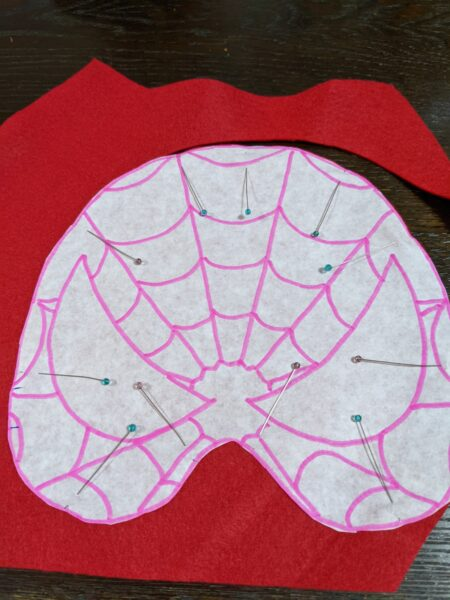 スパイダーマン,お面,手作り,子供,マスク,作り方