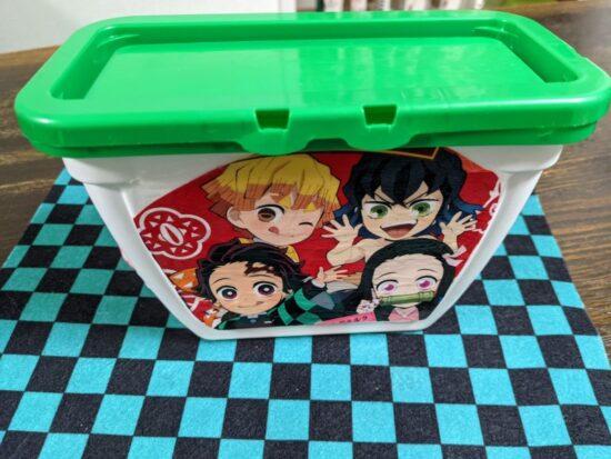 ジェルボール箱,リメイク,お菓子の袋,お菓子のパッケージ,卓上ゴミ箱,アップサイクル